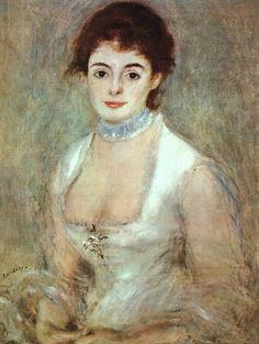 Pierre-Auguste Renoir - Madame Henriot - 1874