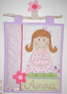 tapiz nena Deco, The Creation, Manualidades, Decor, Deko, Decorating, Decoration