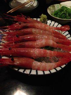 KOTO - sweet shrimp 9.5/10 #shrimp #latenight #sushi #vancouvereats #food #vancouver #seafood Vancouver, Grill Pan, Sushi, Grilling, Griddle Pan, Crickets