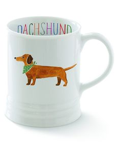 Look at this Dachshund Georgia Mug on #zulily today!