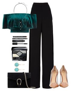 """""""Star"""" by b-campos ❤ liked on Polyvore featuring Rochas, River Island, Banana Republic, Gianvito Rossi, Ippolita, Gucci, Christian Dior and Rodial"""