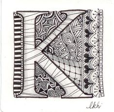 Je suis la diva - Zentangle Enseignant certifié (CZT®): Happy Birthday Kathy!