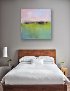 Minimalist Abstract Landscape Canvas Print by Jacquie Gouveia #jacquiegouveia #minimalism #contemporary #modern