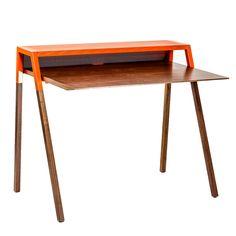 Cant Desk Orange by Blu Dot x Fab