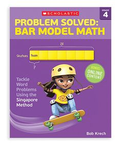 Grade 4 Problem Solved: Bar Model Math Workbook by Scholastic Teaching Resources #zulily #zulilyfinds
