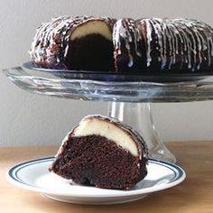Ribboned Fudge Cake - Allrecipes.com