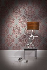 A wicked lamp and cool piece of photography