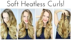 I'm calling this method: Halo curls! As far as I know, I created this new, super easy heatless method for beautiful waves. I hope you try it out and # me if ...