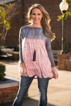 """""""The Party Never Ends Top, Pink"""" 