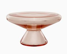Pink Glass Mercury Cake Stand is inexpensive & far too good not to share. Available at Liberty London
