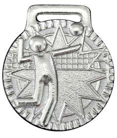Medalla para voleibol en níquel brillante. Medal for volleyball in nickel