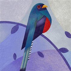Geometric Bird Illustrations By Samy Halim http://designwrld.com/geometric-bird-illustrations-samy-halim/