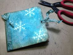 happy holidays bloggers... i'm excited to share a new video featuring some ideas using distress stains. of course i love that i have the 12 new colors to work with and this holiday tag/card was th...