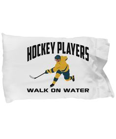 Hockey Players Walk On Water Sports Lover Pillow Case