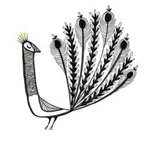 paon4, illustration de Cécile Hudrisier