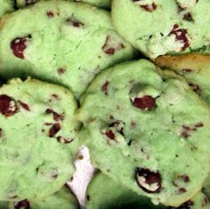 Food Marriage: Allison's Mint Chocolate Chip Cookies Recipe
