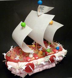 Barco pirata de chuches