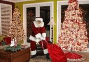 Neat! Website where you take a picture of your tree, upload it, and pick a Santa to stick in your picture. Proof that Santa was at your house!!!