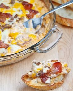 Bacon Double Cheese Burger Dip... Happy Hour Appetizers 5 | Hampton Roads Happy Hour - g.6.5, i.12.5