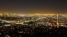 The City of Lights Los Angeles Skyline, City Of Angels, City Lights, Places, Outdoor, Outdoors, Outdoor Living, Garden, Lugares
