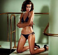 Stroje kąpielowe Agent Provocateur wiosna-lato 2015, bikini, kostiumy kąpielowe…