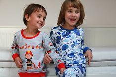 Sewing pattern for kids pyjamas