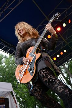Nancy Wilson of Heart perform July 8, 2012 at The Hudson Gardens And Event Center