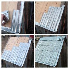 Cómo hacer tejas con latas de aluminio. Fácil y gratis!