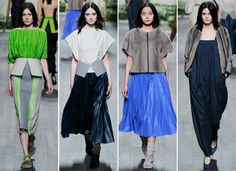 Vionnet Fall/Winter 2014-2015 Collection - Paris Fashion Week  #ParisFashionWeek #fashionweek #PFW