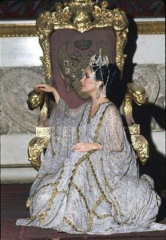 "While filming ""The Blue Bird"" in Russia, Elizabeth Taylor posed for the People cover, and the photographer was Milton Greene. He had Taylor seated on the throne of Peter the Great of Russia at the Hermitage Museum, without official permission, and after the KGB escort left the room he began struggling to create a portable strobe. It was not only dangerous but also freezing and Taylor famously said: ""Milti, for Christ's sake, take the f… ing picture!!!""…"