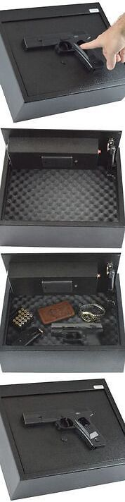 Cabinets and Safes 177877: Biometric Fingerprint Drawer Personal Gun Safe, Black Handgun Theme New -> BUY IT NOW ONLY: $134.99 on eBay!