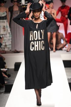 Moschino - Spring/Summer 2014 Milan Fashion Week