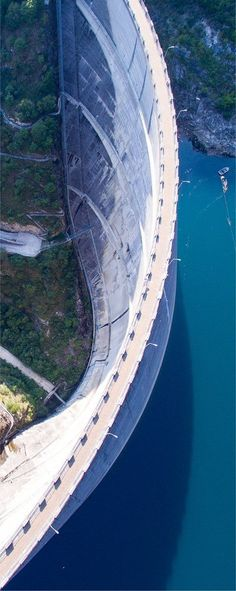 aerial photos by drones - you'd need good insurance for your drone flying over structures like these!
