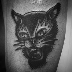 #klink #tattoo #klinktattoo #artist #oldschooltattoo #oldschool #blacktattoo #traditional #traditionaltattoo #sketch #tattoosketch #tattooflash #line #linework #shading #flash #black #ink #cat #cattattoo