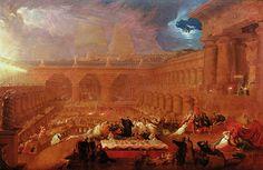 Belshazzar's Feast (1820) by John Martin
