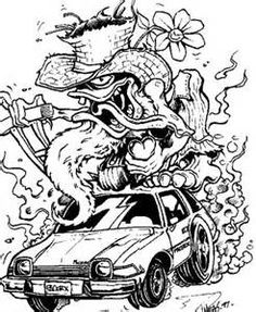 Rat Rod Coloring Pages - - Yahoo Image Search Results