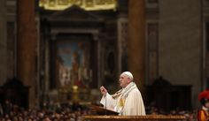 Pope Francis on New Year's Eve