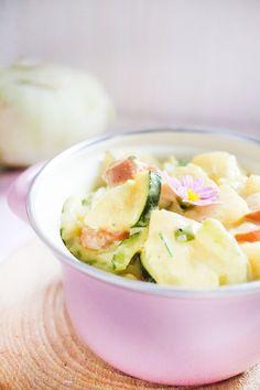 Low Carb Zucchini-Kohlrabi-Ragout