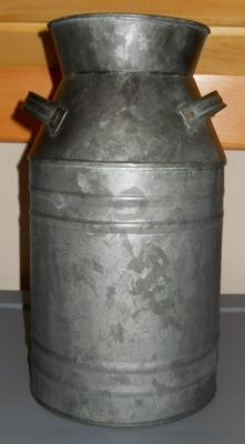 heres another milk can if you don't want so much rust. Would go well with the wash tub.