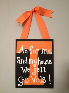 Go+Vols+College+team+Painted+Canvas+by+HammasHeavenlyGifts+on+Etsy,+$25.00