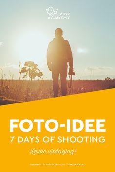 Een mooie uitdaging voor jezelf: 7 days of shooting! Gebruik dit artikel als foto-idee of inspiratie. Maak 7 dagen lang iedere dag een foto en kijk wat het je oplevert.