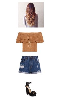"""""""Sem título #119"""" by nath-nessie on Polyvore featuring beleza, Steve Madden e Kate Spade"""