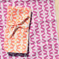 napkins set of 2 Mexico by saraleeparker on Etsy