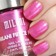 Milani Fierce Foil Nail Lacquer Swatches and Review