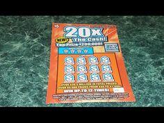 $200.000 20x The Cash! North Carolina Lottery