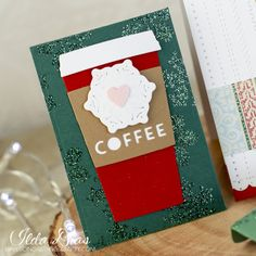 (I) (L)ove (D)oing (A)ll Things Crafty!: Christmas Coffee Cup Gift Card Envelopes and Cards for Teachers