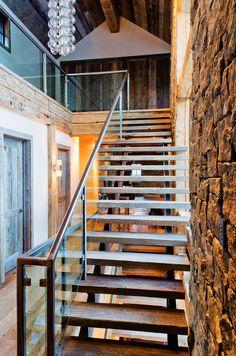 Big Sky Residence by New York City based interior design firm Haynes-Roberts