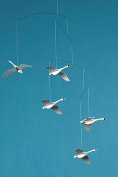 Flensted Mobiles - Scandinavin Swans