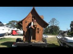 "BoMoSo Storybook Cottage 2 Playhouse Shed ""Big door / Little door"" - YouTube"