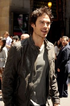 Ian Somerhalder at the CW Upfronts in NYC